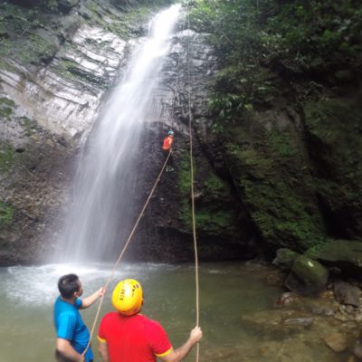 Rappel/Canyoning